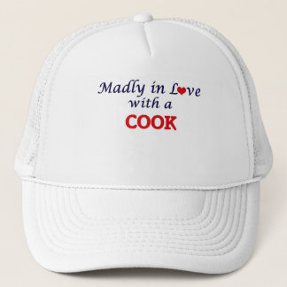 Madly in love with a Cook Trucker Hat