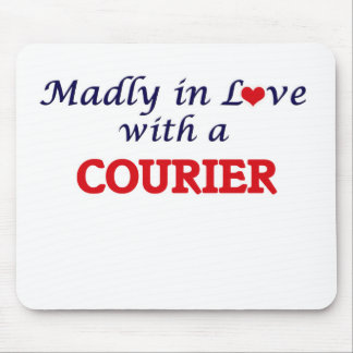 Madly in love with a Courier Mouse Pad