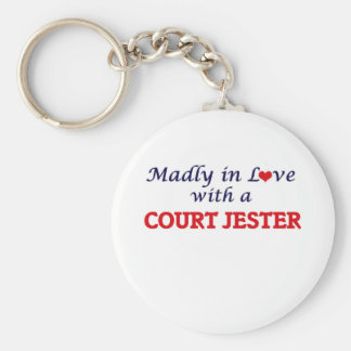 Madly in love with a Court Jester Keychain
