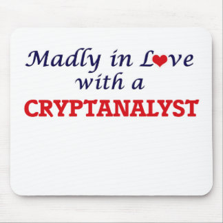 Madly in love with a Cryptanalyst Mouse Pad