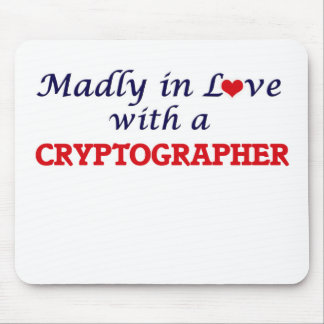 Madly in love with a Cryptographer Mouse Pad