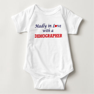 Madly in love with a Demographer Baby Bodysuit