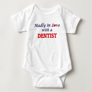 Madly in love with a Dentist Baby Bodysuit