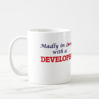Madly in love with a Developer Coffee Mug