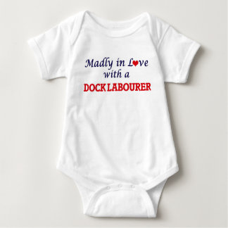 Madly in love with a Dock Labourer Baby Bodysuit