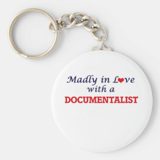 Madly in love with a Documentalist Keychain