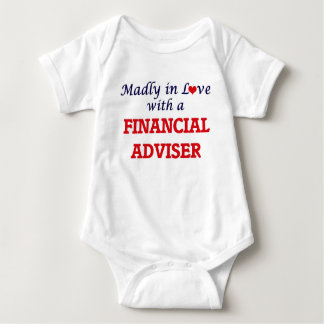 Madly in love with a Financial Adviser Baby Bodysuit