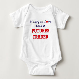 Madly in love with a Futures Trader Baby Bodysuit
