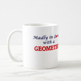 Madly in love with a Geometer Coffee Mug