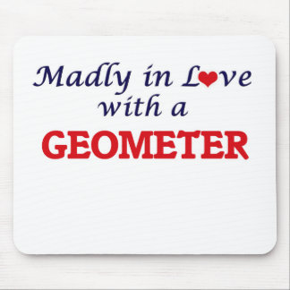 Madly in love with a Geometer Mouse Pad