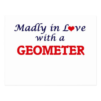 Madly in love with a Geometer Postcard