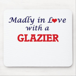 Madly in love with a Glazier Mouse Pad
