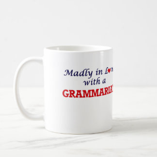 Madly in love with a Grammarian Coffee Mug
