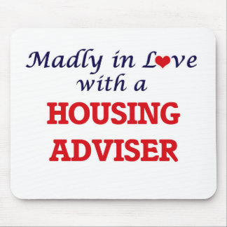 Madly in love with a Housing Adviser Mouse Pad