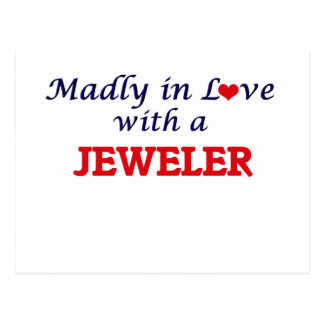 Madly in love with a Jeweler Postcard