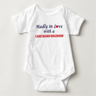 Madly in love with a Land Based Engineer Baby Bodysuit
