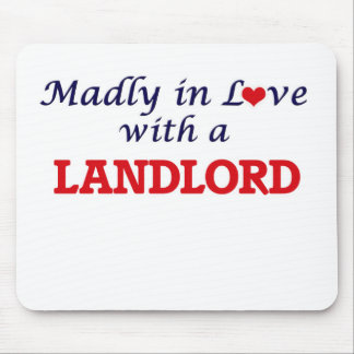 Madly in love with a Landlord Mouse Pad