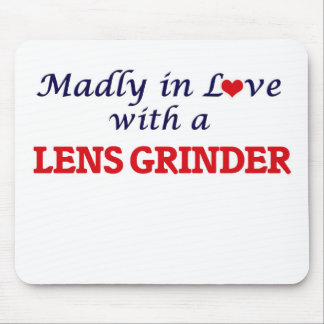 Madly in love with a Lens Grinder Mouse Pad