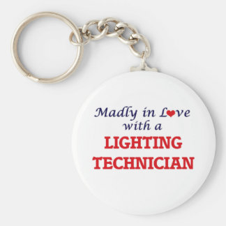 Madly in love with a Lighting Technician Keychain