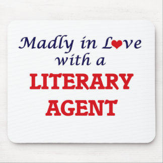 Madly in love with a Literary Agent Mouse Pad