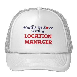 Madly in love with a Location Manager Trucker Hat