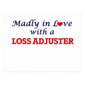 Madly in love with a Loss Adjuster Postcard