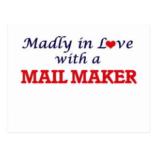 Madly in love with a Mail Maker Postcard