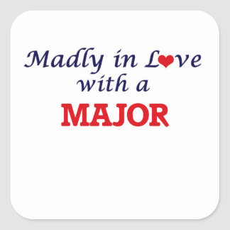 Madly in love with a Major Square Sticker
