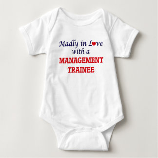 Madly in love with a Management Trainee Baby Bodysuit