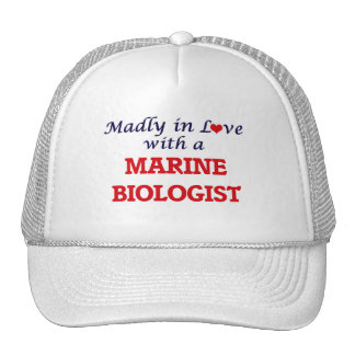 Madly in love with a Marine Biologist Trucker Hat