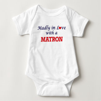 Madly in love with a Matron Baby Bodysuit