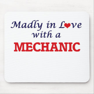 Madly in love with a Mechanic Mouse Pad