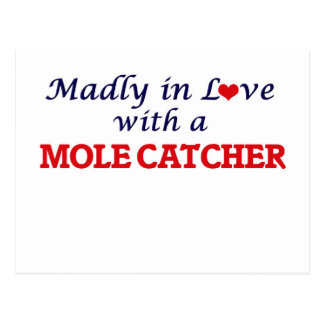 Madly in love with a Mole Catcher Postcard