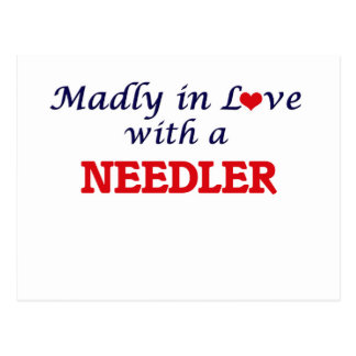 Madly in love with a Needler Postcard