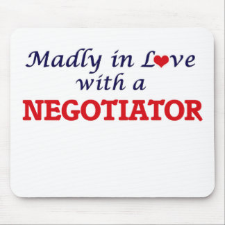 Madly in love with a Negotiator Mouse Pad