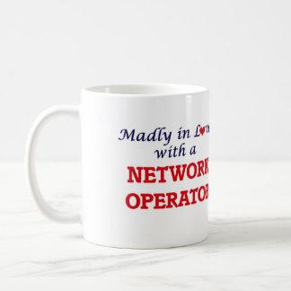 Madly in love with a Network Operator Coffee Mug