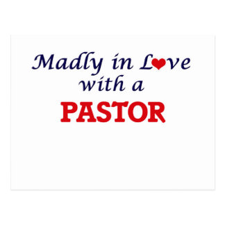 Madly in love with a Pastor Postcard