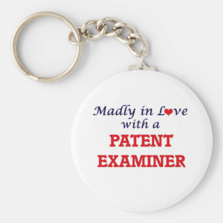 Madly in love with a Patent Examiner Keychain