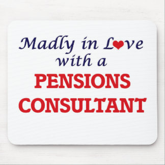 Madly in love with a Pensions Consultant Mouse Pad