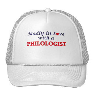Madly in love with a Philologist Trucker Hat