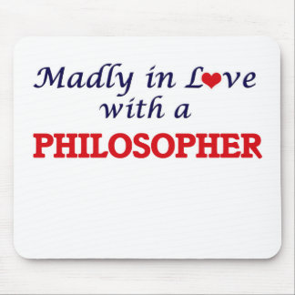 Madly in love with a Philosopher Mouse Pad