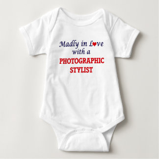 Madly in love with a Photographic Stylist Baby Bodysuit