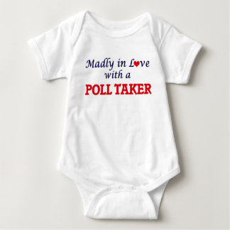 Madly in love with a Poll Taker Baby Bodysuit