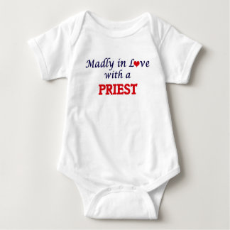 Madly in love with a Priest Baby Bodysuit