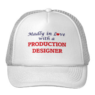 Madly in love with a Production Designer Trucker Hat