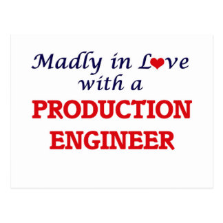 Madly in love with a Production Engineer Postcard