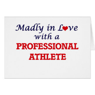 Madly in love with a Professional Athlete Card