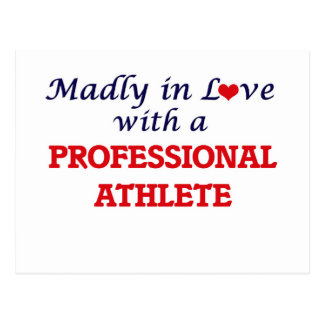 Madly in love with a Professional Athlete Postcard