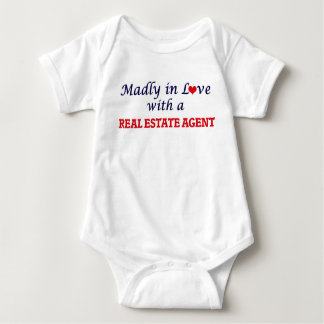 Madly in love with a Real Estate Agent Baby Bodysuit