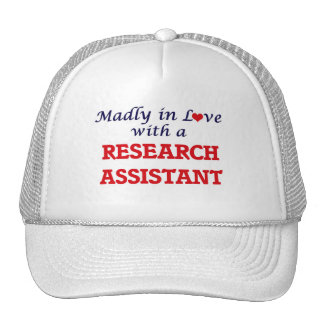 Madly in love with a Research Assistant Trucker Hat